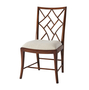 A Delicate Trellis Side Chair