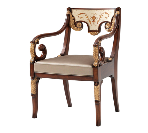 Excellent Theodore Alexander Seating Accent Chairs 4100 489 1Abl Short Links Chair Design For Home Short Linksinfo
