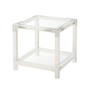 Cutting Edge Accent Table (Longhorn White)