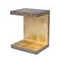 Metallic Signature Piece Side Table
