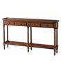 The Slim Oak Console Table
