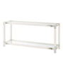 Cutting Edge Console Table (Longhorn White)