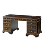 The Chinoiserie Library Pedestal Desk