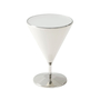 'Quartz' Mixology (Stainless Steel, Small) Accent Table