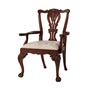 Crested Armchair
