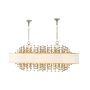Chaumont II Oval Chandelier