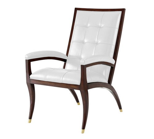 Excellent Theodore Alexander Seating Accent Chairs Keno4220 Short Links Chair Design For Home Short Linksinfo