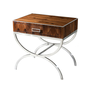 dual curves II side table