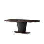 Pirouette Cigar Club Rectangular Dining Table