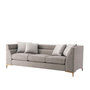 Boystown Sofa (Brushed Brass)
