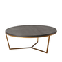 Fisher Round Cocktail Table (Shagreen)