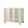 Nolan Serpentine Chest of Three Drawers