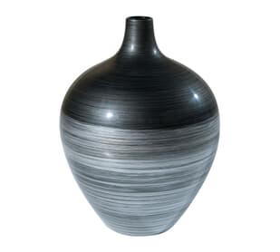 Silvered Shimmer Vase