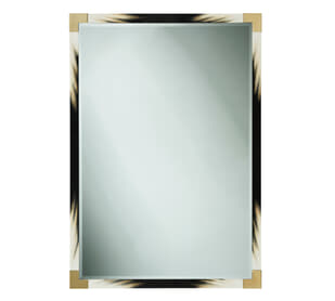 Small Cutting Edge Wall Mirror