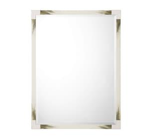 Cutting Edge Wall Mirror (Longhorn White)