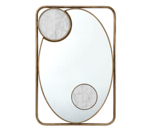 Iconic Rectangular Mirror
