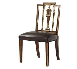 Formal Lines Side chair