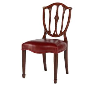 Palmerstone's Brass Rosette Dinner Sidechair
