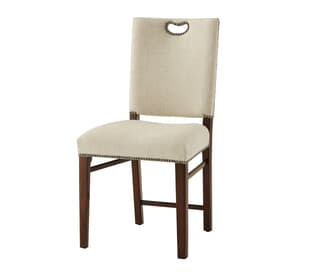 Tireless Campaign Side Chair