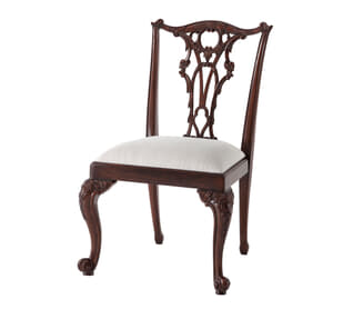 Seated in Rococo Splendour II Side Chair
