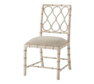 Cream Claydon Sidechair
