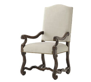 Warmth By The Fireside Dining Armchair