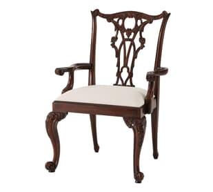 Seated in Rococo Splendour II Armchair