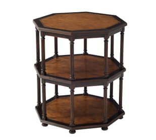 Octagons of Pine Side Table