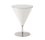 'Quartz' Mixology (Stainless Steel) Accent Table