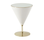 'Pebble' Mixology (Polished Brass) Accent Table