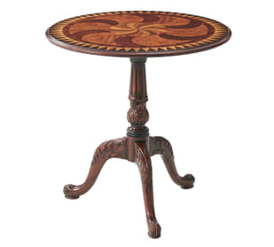The Swirl-Top Accent Table