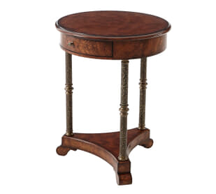 Meticulous Columns Accent Table