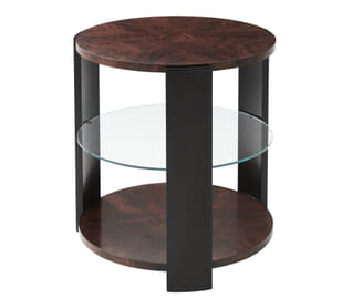 Walnut Reflection Side Table