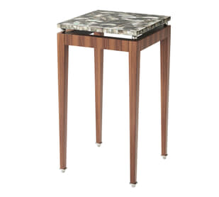 Dark Pearl Accent Table