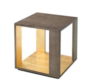 Metallic Signature Side Table