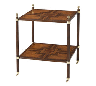 Regency Tiers Side Table