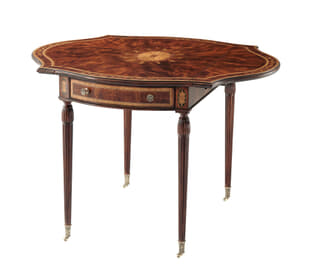 Penwork Pembroke Side Table