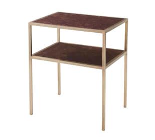 Golden Rectangle Side Table