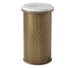 Iconic Round Accent Table