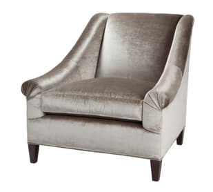 Marquette Tight Back Exposed Leg  Chair