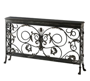 A Highly Wrought Console Table