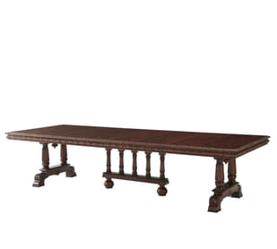 Medieval Revival Dining Table