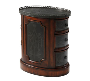 Victoria's Armoury Side Table