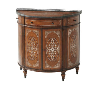 Finely Traced Decorative Chest