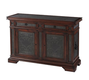 George III Pattern-Maker Decorative Chest