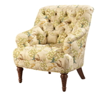Button back Nursing Upholstered Chair
