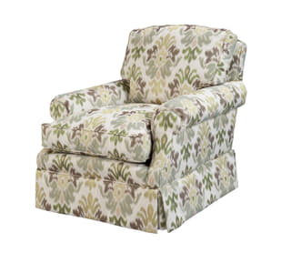 The Roll Upholstered Chair
