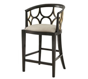 Ebonised Connaught Bar Chair