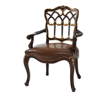 The Gothic Library Armchair