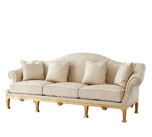 Sunderland Room Camel Back Sofa